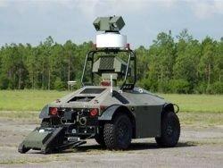 Робот-патрульный заступил на охрану ядерного полигона в США