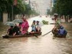 В Китае произошло катастрофическое наводнение