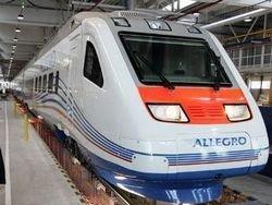 """В Санкт-Петербурге представили поезд \""""Аллегро\"""""""
