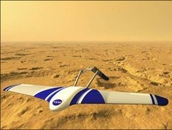 Беспилотный самолет отправится исследовать Марс