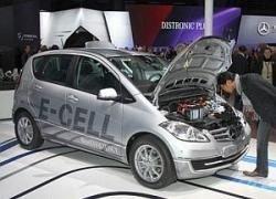 Электрические Mercedes-Benz проходят проверку