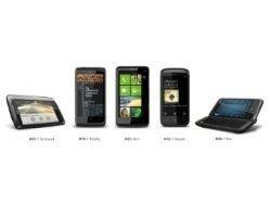 HTC анонсировала пять моделей смартфонов на Windows Phone 7