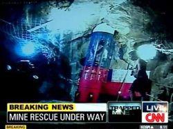На поверхность подняты пятеро чилийских шахтеров