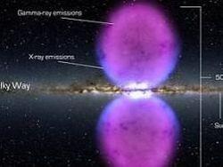 Ученые в центре галактики обнаружили пузыри энергии