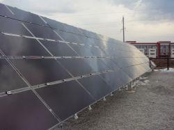 В России построена первая солнечная электростанция