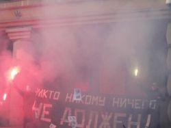 """""""Другоросы"""" заблокировали вход в приемную Минобороны"""