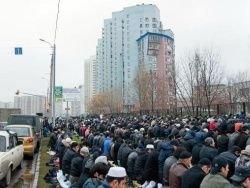 В центре Твери мусульмане устроили кровавые жертвоприношения