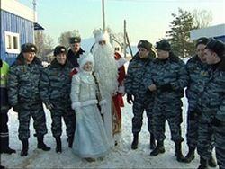 Дед Мороз приехал в Кострому с предвыборной кампанией
