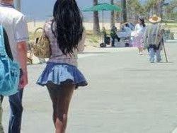 Запрет на мини-юбки в корее