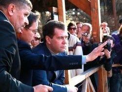 Медведев вошел в Иордан