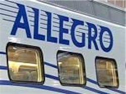 """Поезд """"Аллегро"""" сбил двух человек"""