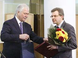 Борис Грызлов наградил журналистов