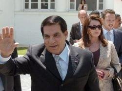 В Тунисе арестованы 33 родственника бежавшего президента