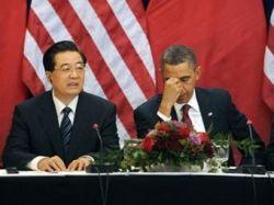 Ху Цзиньтао не расслышал вопрос о соблюдении прав человека