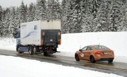 Volvo научит автомобили ездить  паровозиком