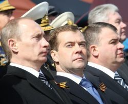 Состоялся пикет военных за отставку Путина