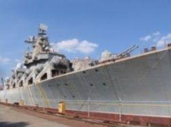 Россия хочет даром забрать у Украины крейсер