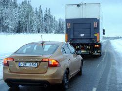 Европейцы впервые показали повзводное движение автомобилей