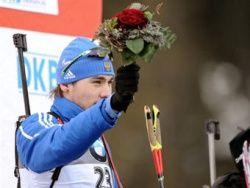 Российский биатлонист выиграл гонку Кубка мира