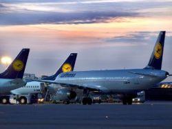 Самолет Lufthansa совершил вынужденную посадку