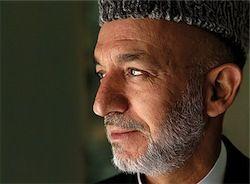 Хамид Карзай просит русских вернуться