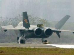 Китайский самолет-невидимка и русский след