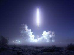 США запустили самую крупную за всю историю ракету