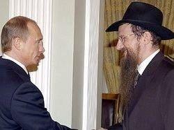 Берл Лазар фактически признал происхождение Путина