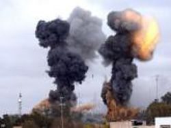 Армия Муаммара Каддафи вошла в Марса-эль-Брегу