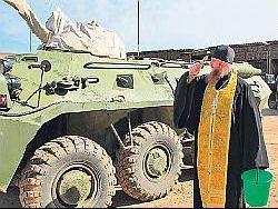 Российских священников призвали на армейскую службу