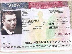 За визу США Дерипаска заплатил более $ 1 млн