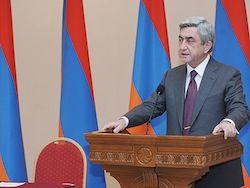 Президент Армении: гражданским самолетам угрожают террористы