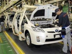 Из-за землетрясения Тойота недовыпустит полмиллиона машин