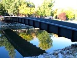В Мадриде появился самый длинный мост из углепластика