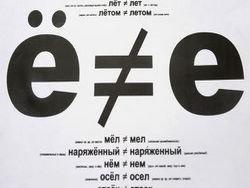 Россияне спорят о букве Ё