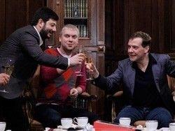 Дмитрий Медведев и деятели культуры
