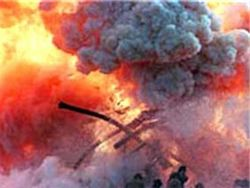 Напротив Московской военной комендатуры взорвался автомобиль