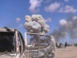 НАТО разбомбило 13 ливийских мятежников