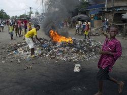 У президентского дворца в Кот-д'Ивуаре начался бой