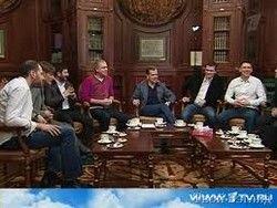 Резидент Медведев - новая российская ТВ-звезда