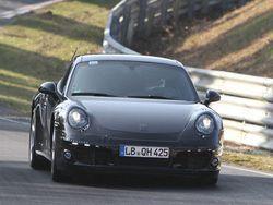 Новый 911 замечен на трассе Нюрбургринг