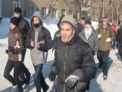 Русскую молодежь задерживают за занятия спортом