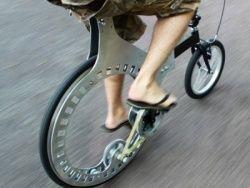 Студент из великобритании изобрёл велосипед