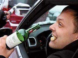 В 2011 г. увеличилось число погибших по вине пьяных водителей