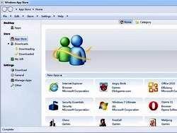 Windows 8 будет интегрирована с магазином приложений
