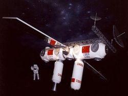 Китай создает собственную космическую станцию