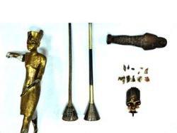 В Каирский музей вернули статую Тутанхамона