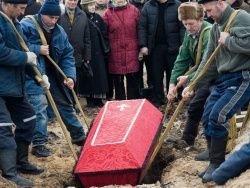 В Белоруссии начались похороны первых погибших из-за теракта
