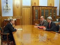 Путин провел последнюю консультацию перед отчетом в Госдуме