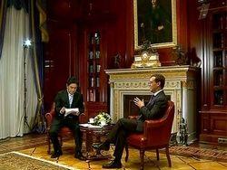 Дмитрий Медведев ответил на вопросы телеканала CCTV